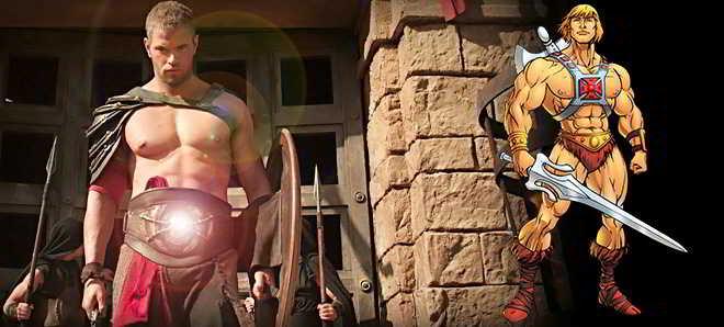 Kellan Lutz poderá ser o novo He-Man no reboot de 'Masters do Universo'