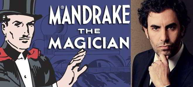 Sacha Baron Cohen foi escolhido para protagonista de 'Mandrake The Magician'