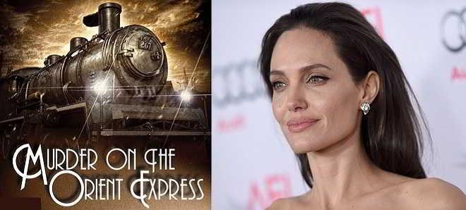 Angelina Jolie em negociações para o remake de 'Um Crime no Expresso do Oriente'