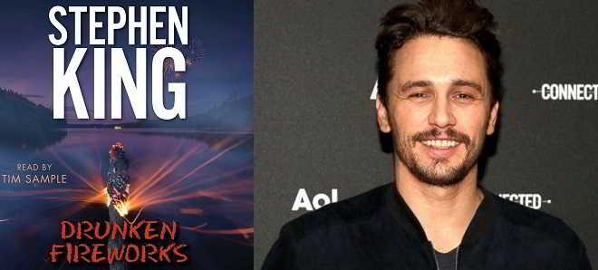 James Franco vai protagonizar adaptação de 'Drunken Fireworks'