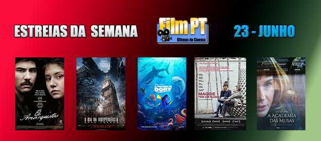 Estreias de Filmes da Semana: 23 de junho de 2016