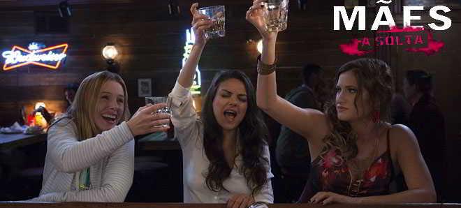 Mila Kunis no primeiro trailer legendado em português de 'Mães à Solta'