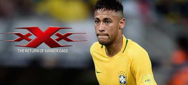 Craque brasileiro Neymar vai participar em 'xXx: The Return of Xander Cage'