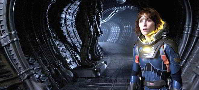 Noomi Rapace foi integrada no elenco de 'Alien: Covenant'