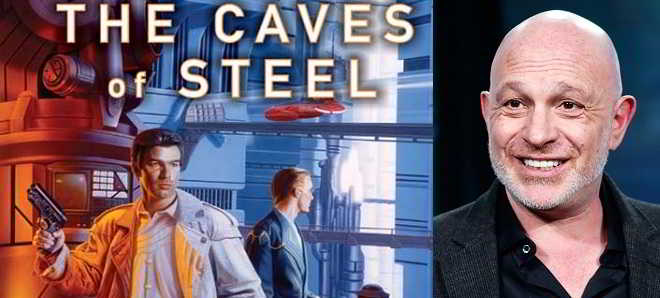 Akiva Goldsman vai adaptar ao grande ecrã o livro 'The Caves of Steel'