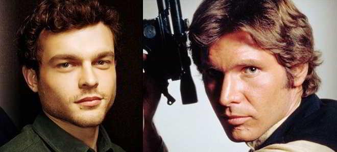 Anunciados vários filmes sobre Han Solo com protagonismo de Alden Ehrenreich