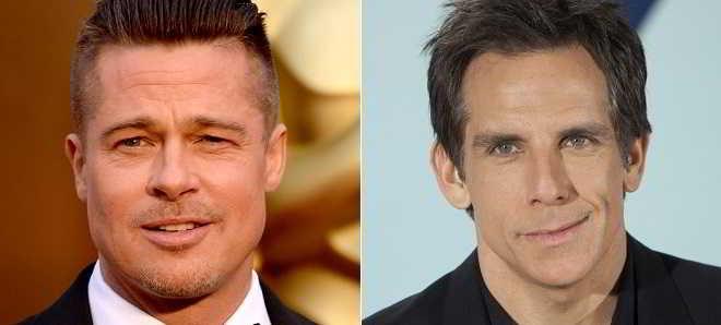Brad Pitt e Ben Stiller juntos na nova comédia 'Brad's Status'