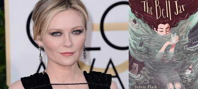 Kirsten Dunst vai dirigir a adaptação do romance 'The Bell Jar'
