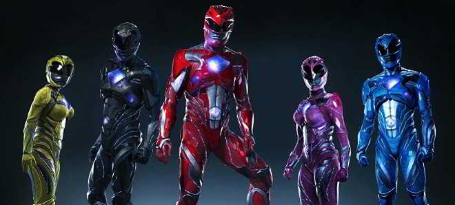 Revelados os poster individuais dos cinco novos Power Rangers