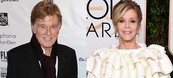 Robert Redford e Jane Fonda vão protagonizar o romance 'Our Souls At Night'