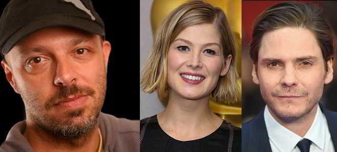 Rosamund Pike e Daniel Brühl em negociações para 'Entebbe', o novo filme de José Padilha