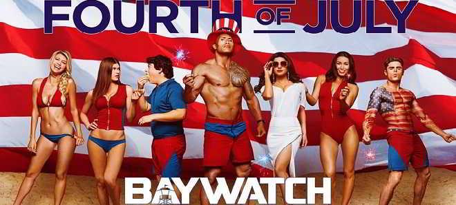 Divulgado o primeiro teaser poster de 'Baywatch' com Dwayne Johnson