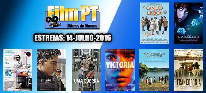 Estreias de Filmes da Semana: 14 de julho de 2016