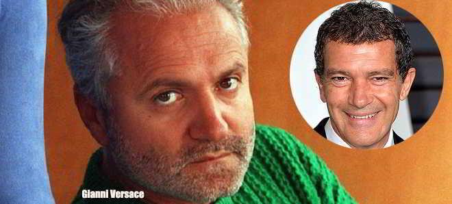 Antonio Banderas vai interpretar Gianni Versace num novo filme