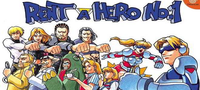 Jogo da SEGA 'Rent a Hero' vai ter uma adaptação cinematográfica