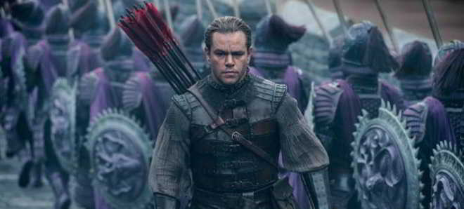 Matt Damon nas primeiras imagens e trailer do thriller 'The Great Wall'