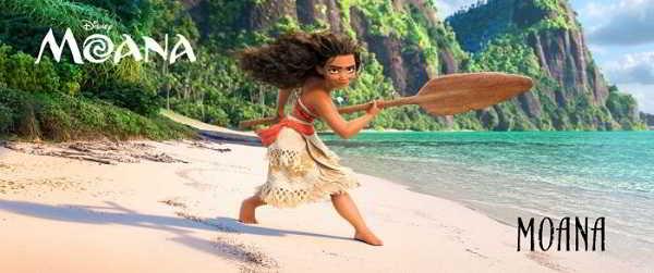 A jovem atriz Auli'i Cravalho dá voz à Princesa Moana Waialiki, uma adolescente aventureira de 16 anos.