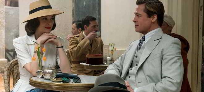 Nova imagem de Brad Pitt e Marion Cotillard do drama de espionagem 'Allied'