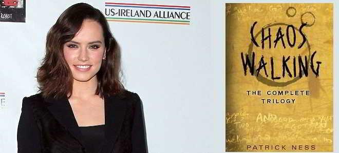 Daisy Ridley vai ser a protagonista da nova franquia 'Chaos Walking'