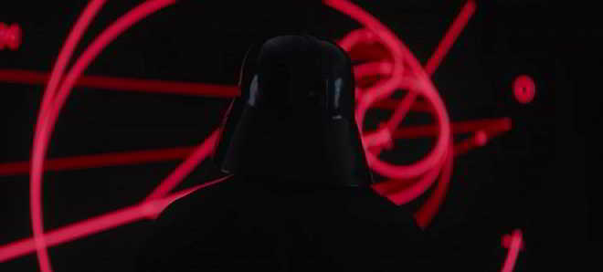 Darth Vader no novo trailer oficial de 'Rogue One: Uma historia de Star Wars'