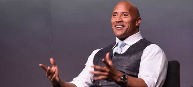 Dwayne Johnson sucede a Robert Downey Jr. como o ator mais bem pago do mundo