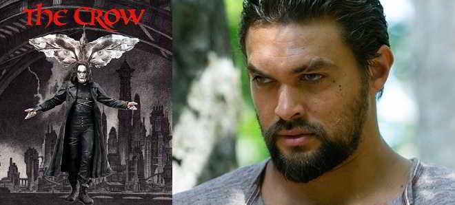 Jason Momoa muito perto de ser o protagonista do remake de 'O Corvo'