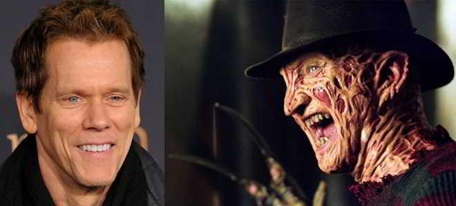 Kevin Bacon manifestou interesse em interpretar Freddy Krueger