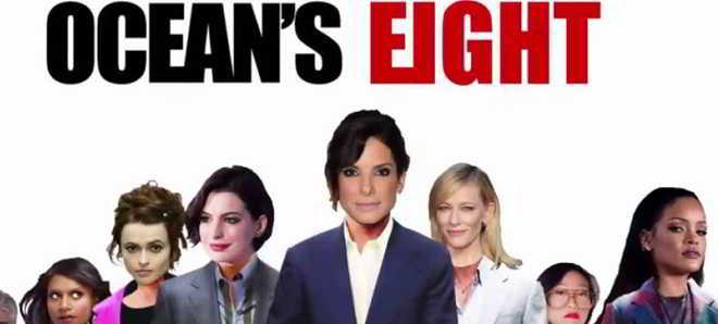 Rihanna e Anne Hathaway no elenco da versão feminina de 'Ocean's Eleven'