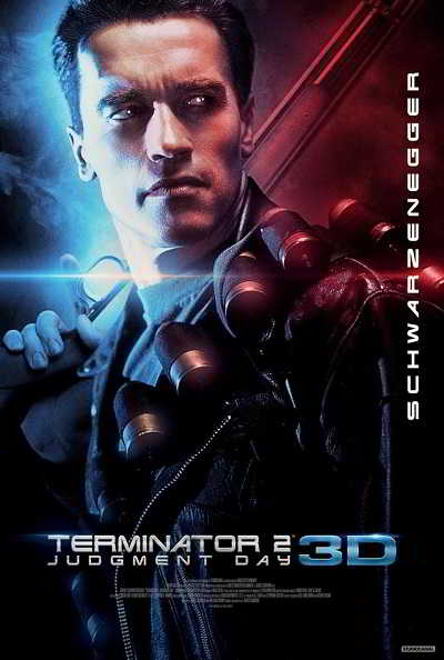 Terminator 2 Judgment Day_poster 3D