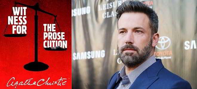 Ben Affleck poderá dirigir e protagonizar a adaptação de 'Testemunha de Acusação'