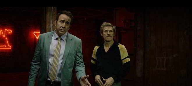 Nicolas Cage e Willem Dafoe no primeiro trailer de 'Dog Eat Dog'