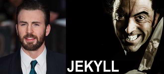 Chris Evans em negociações para protagonizar a adaptação ao cinema de 'Jekyll'