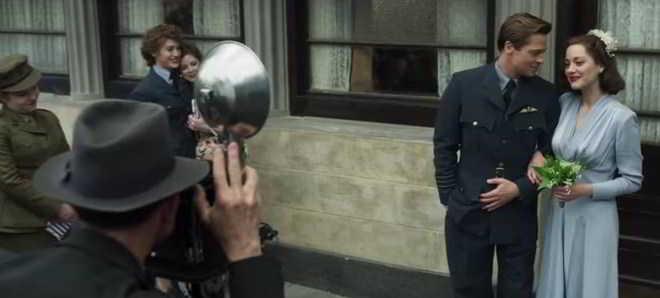 Brad Pitt e Marion Cotillard no primeiro teaser trailer oficial de 'Aliados'