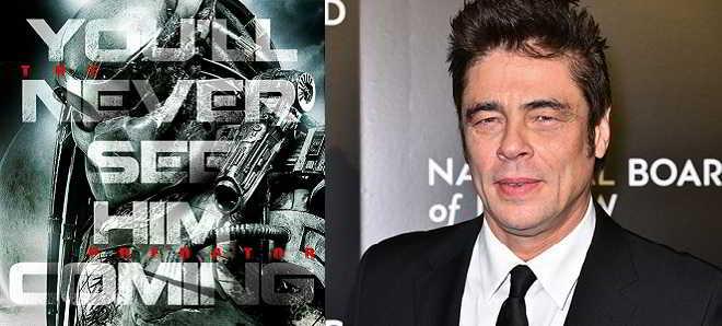 Benicio Del Toro em negociações para o reboot de 'O Predador'