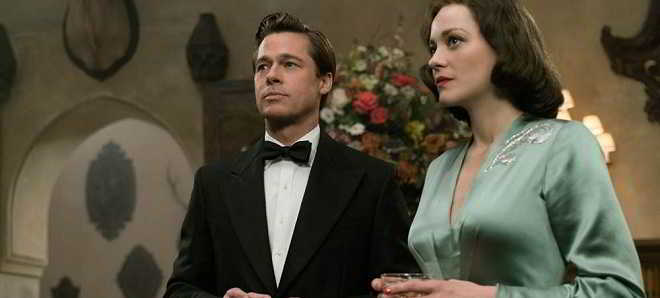 Brad Pitt e Marion Cotillard no teaser trailer em português de 'Aliados'