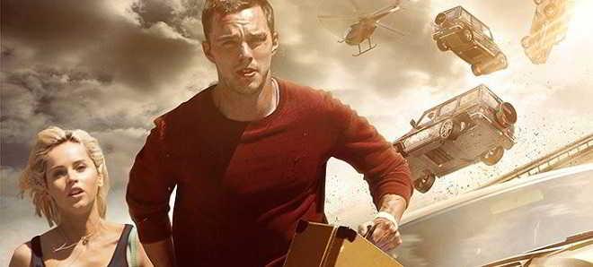 Nicholas Hoult no trailer em português de 'Collide - A Alta Velocidade'