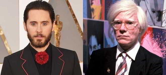 Jared Leto vai interpretar o artista Andy Warhol numa cinebiografia