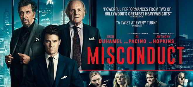 Trailer português de 'Misconduct - Jogos Perigosos' com Josh Duhamel
