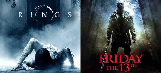 Paramount Pictures adiou a estreia de 'Rings' e 'Sexta-feira, 13'