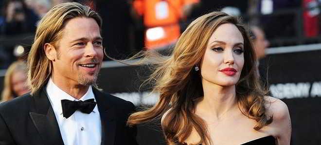 Angelina Jolie entregou os papéis para pedir o divórcio de Brad Pitt