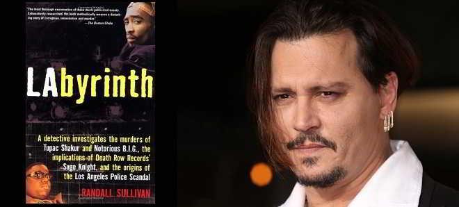 Johnny Depp vai ser detetive da polícia no thriller 'Labyrinth'