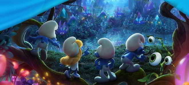 Primeiro teaser trailer e poster da animação 'Smurfs: The Lost Village'