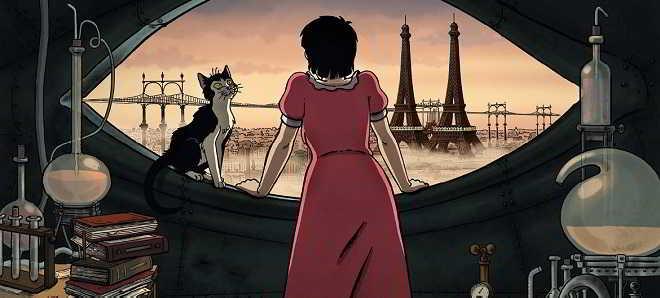 Trailer português da animação 'Abril e o Mundo Extraordinário'