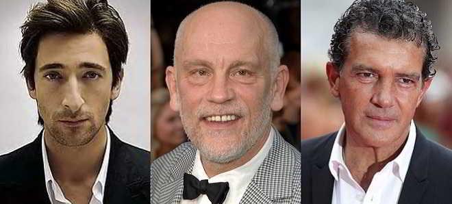 Adrien Brody, John Malkovich e Antonio Banderas juntos em 'Unchained'