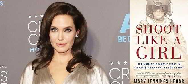 Angelina Jolie em negociações para o drama militar 'Shoot Like a Girl'