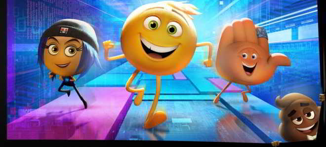 Primeiro teaser trailer e posters de personagens de 'The Emoji Movie'