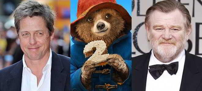 Hugh Grant e Brendan Gleeson no elenco da sequela de 'Paddington'