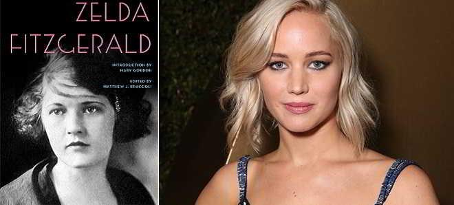 Jennifer Lawrence vai interpretar Zelda Fitzgerald numa cinebiografia