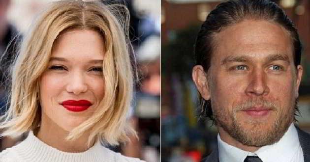 Léa Seydoux e Charlie Hunnam vão procurar a fórmula do amor perfeito em 'Zoe'