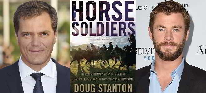 Michael Shannon e Chris Hemsworth juntos no drama de guerra 'Horse Soldiers'